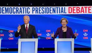 Debates center on Trump attacks and criticism of Elizabeth Warren